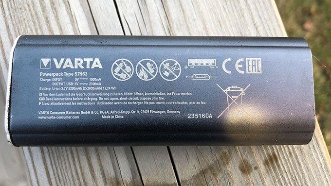 Varta Powerbank 5200MAH