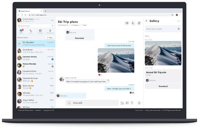 Skype för webben