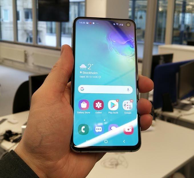 Samsung Galaxy S10e kameraapp
