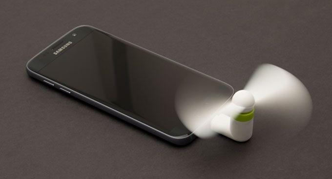Fläktar mobil