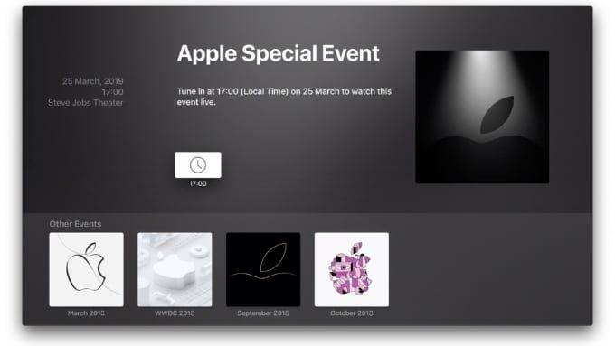 Apple-event mars