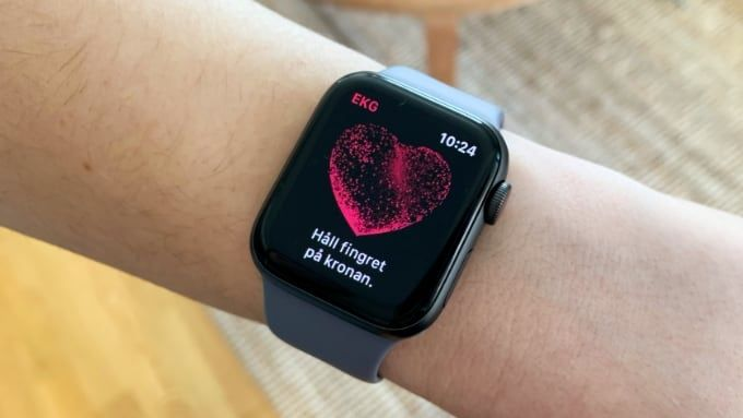 Ekg-appen på Apple Watch