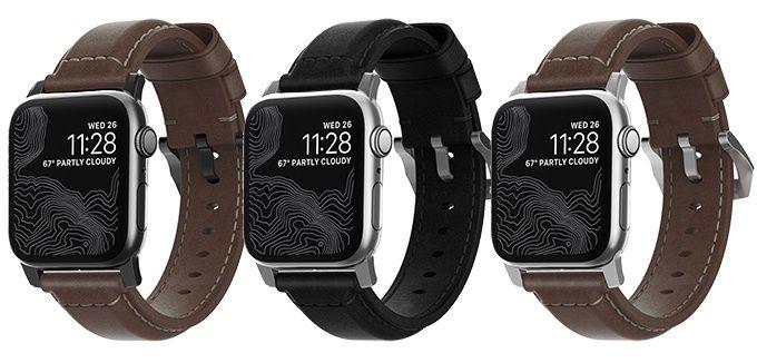 Apple Watch läderarmband