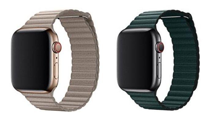 Apple Watch läderloop