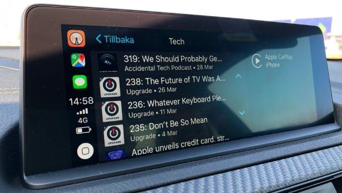 Carplay: 8 bästa apparna för bilen