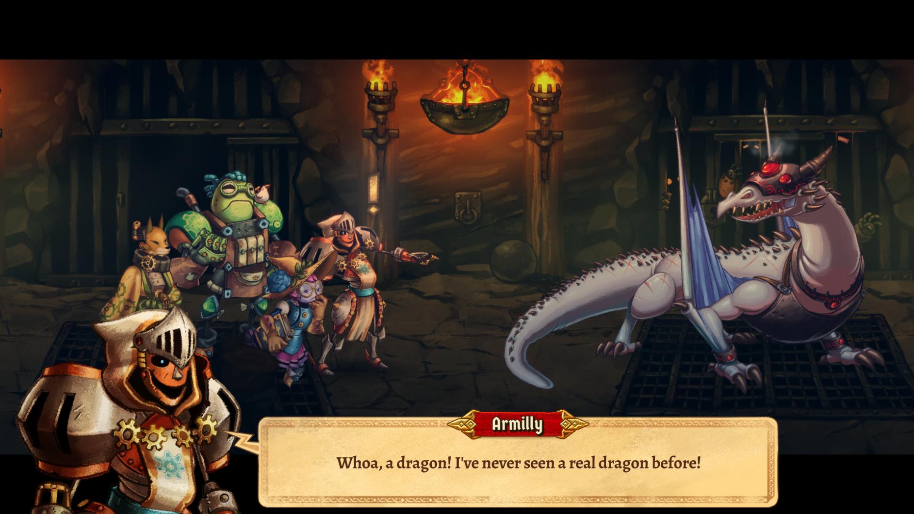 Steamworld Quest recension