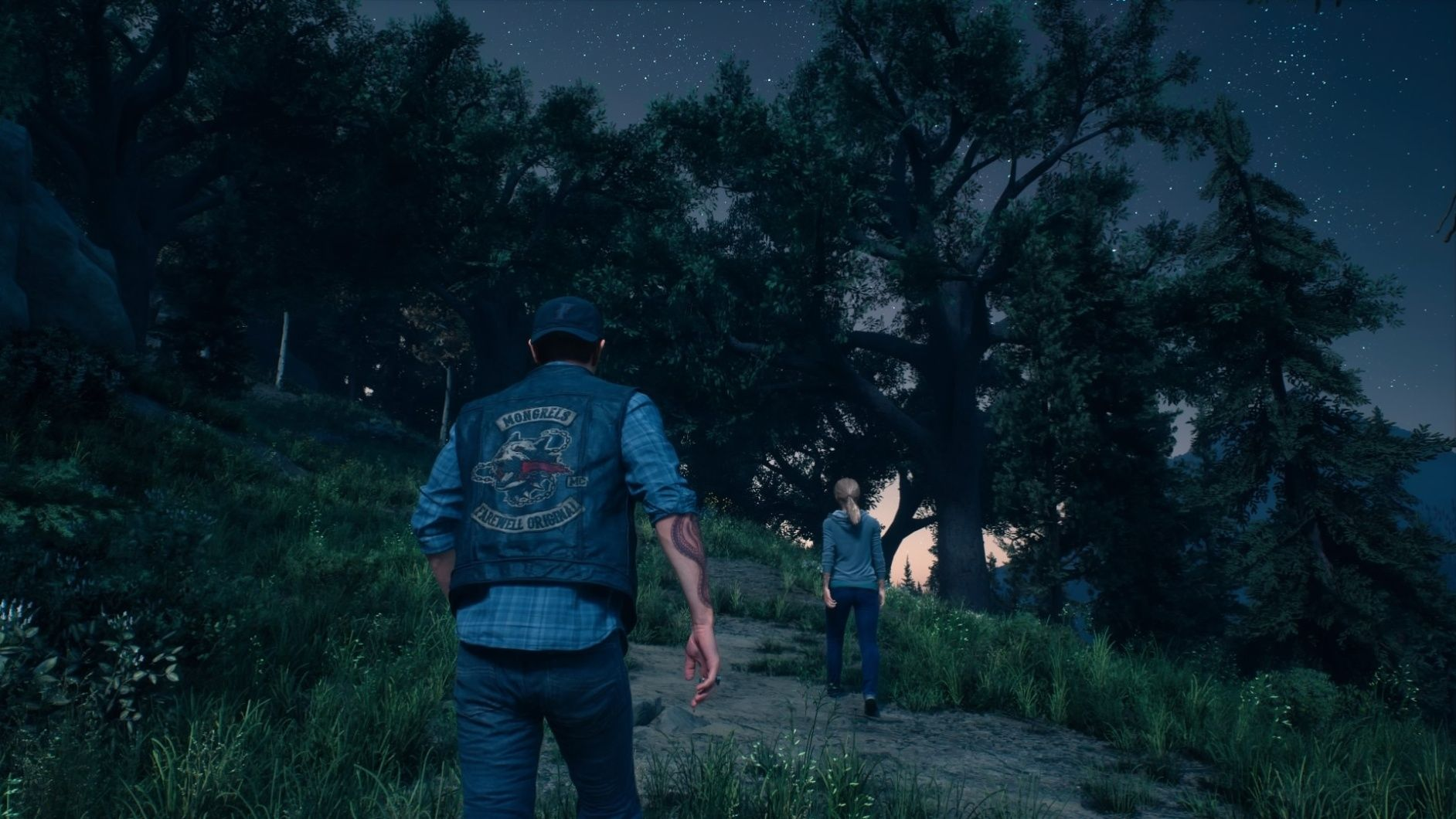 Days Gone Deacon and NPC