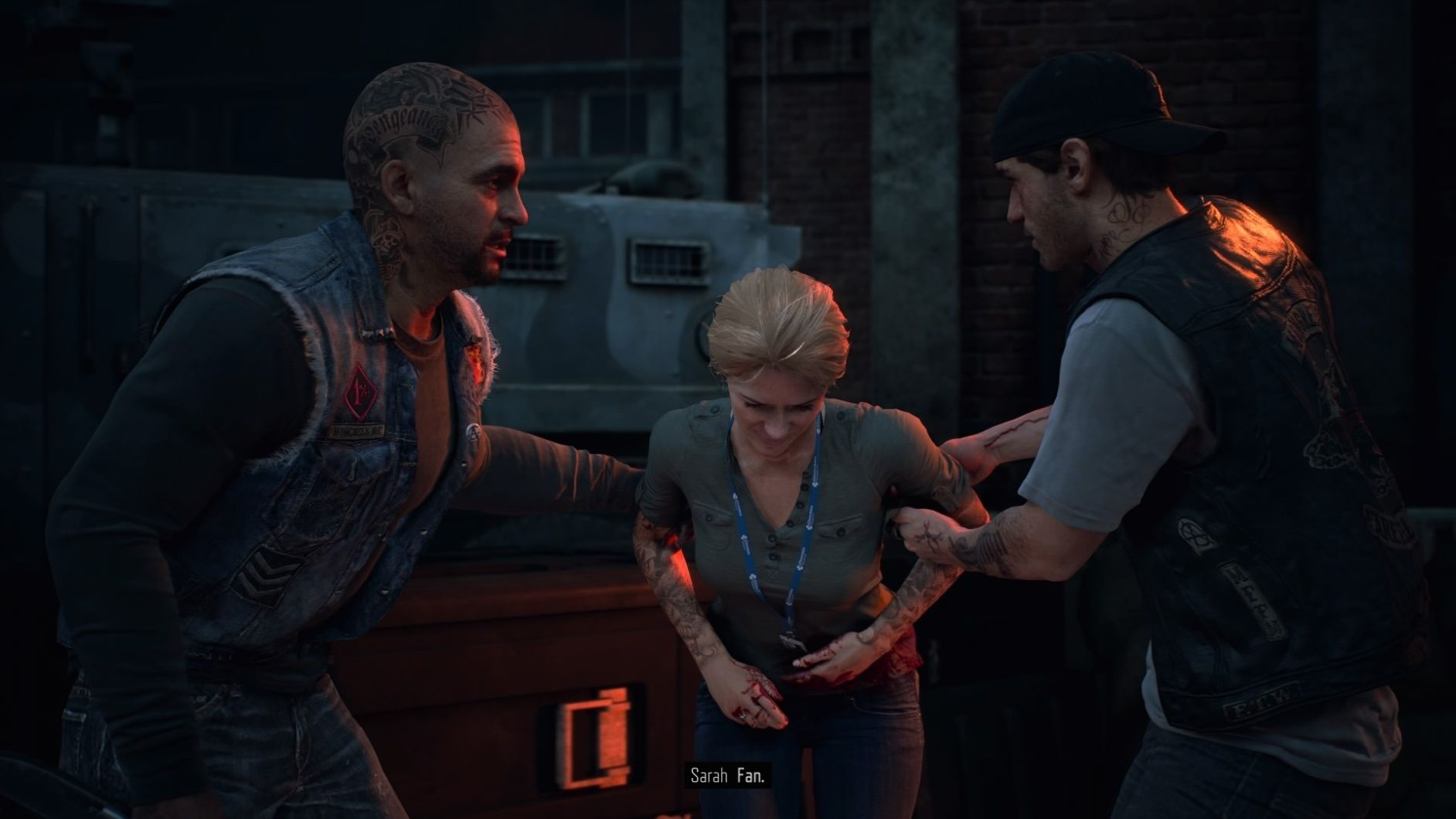 Days Gone Deacon and NPCs
