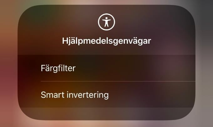 IOS Kontrollcenter tips