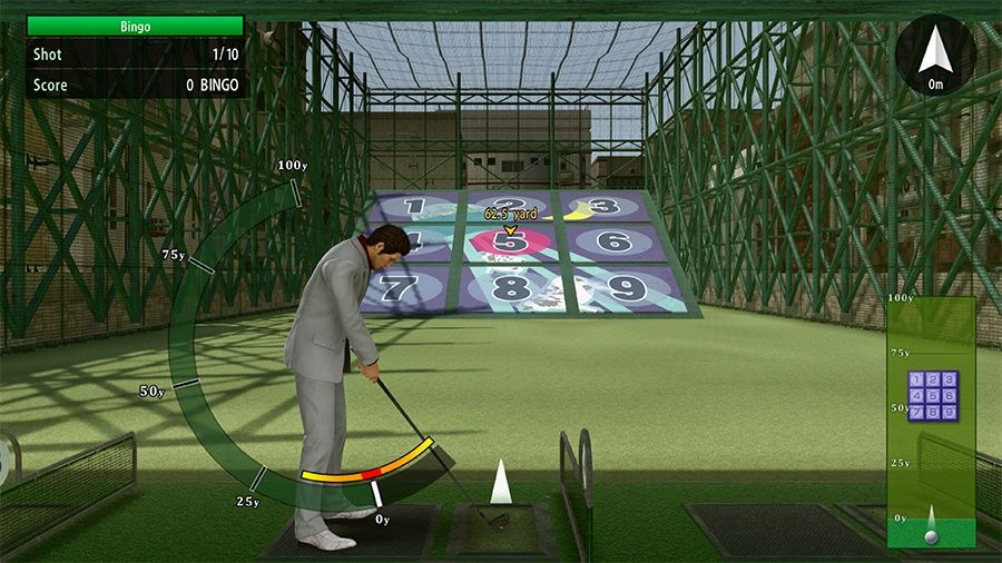 Yakuza Kiwami 2 golf
