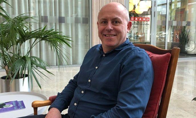 Martin Holmgren, chef för fleet management