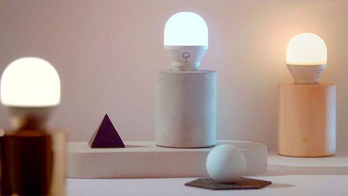 Smarta lampor som present