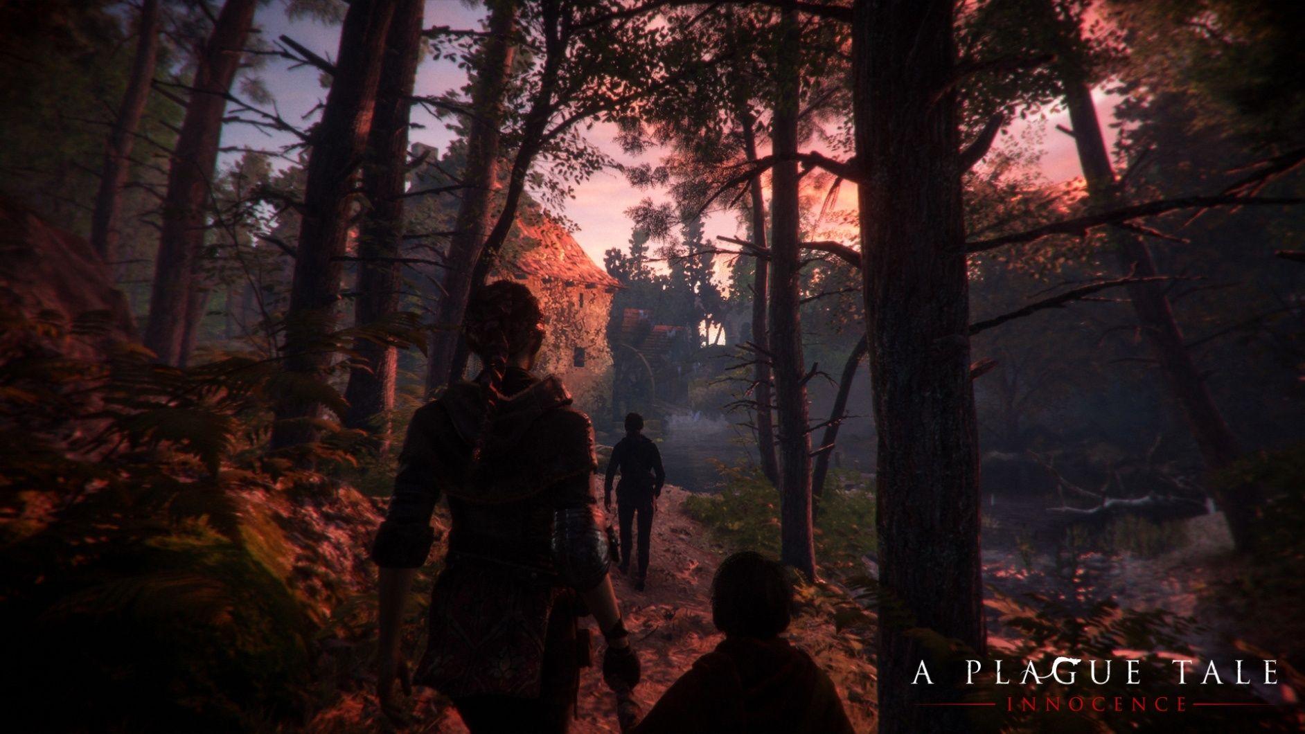 A Plague Tale skog