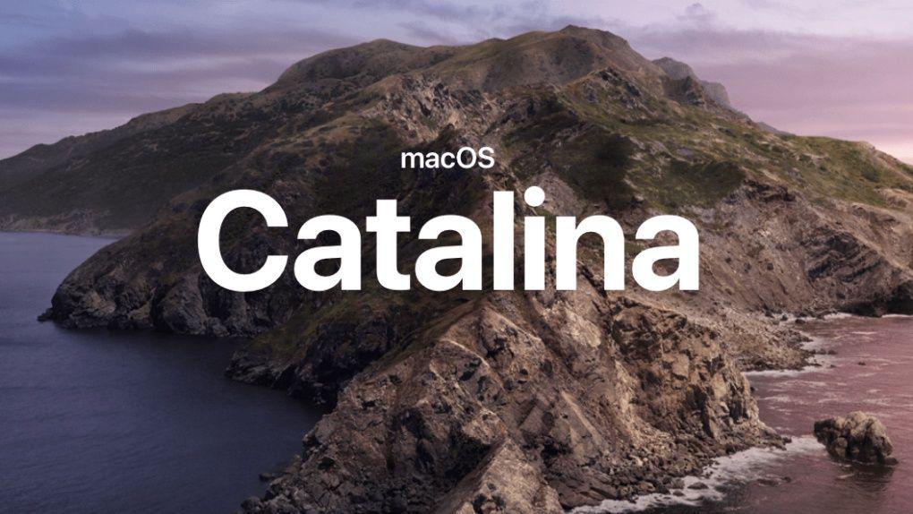 Mac OS 10.15 Catalina