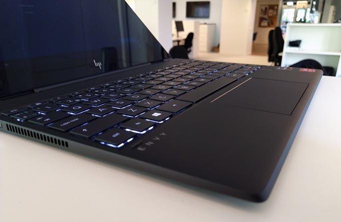HP Envy X360 tangentbord