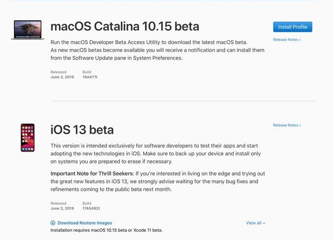 Try IOS 13 and Mac OS Catalina today