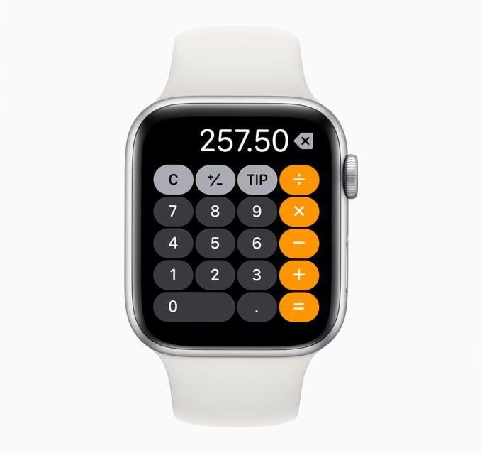 Miniräknare i Watch OS 6