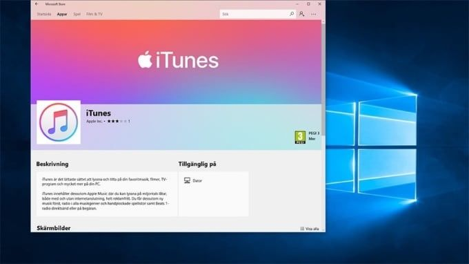 Itunes på Windows