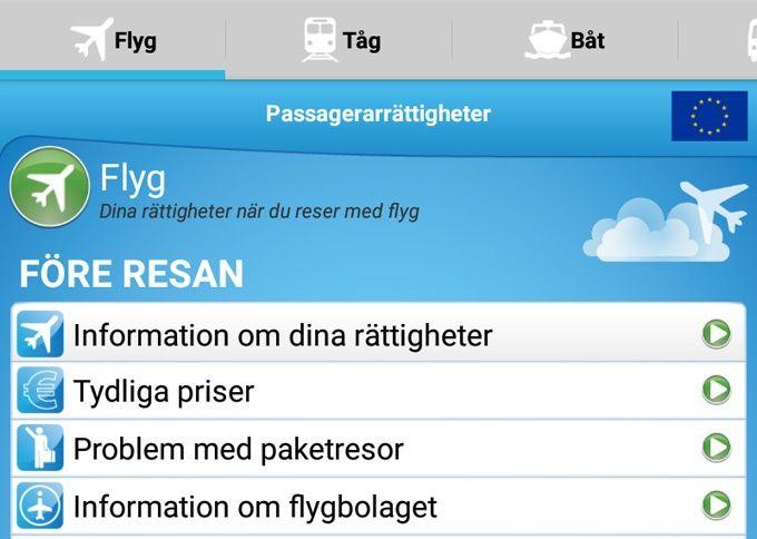Passagerarrättigheter