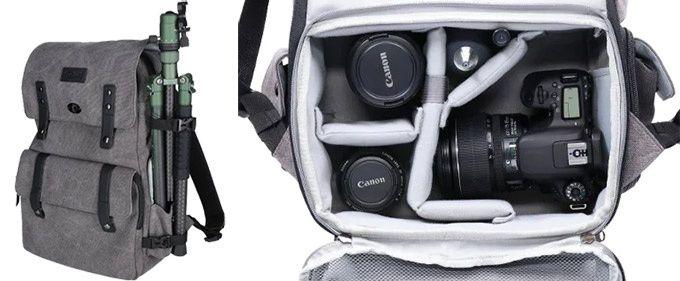Ryggsäck kamera