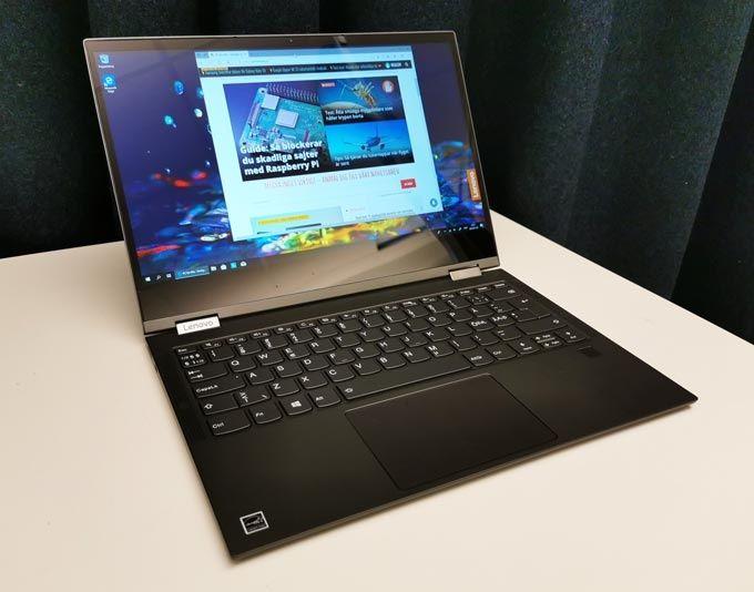 Lenovo Yoga C630 bildskärm