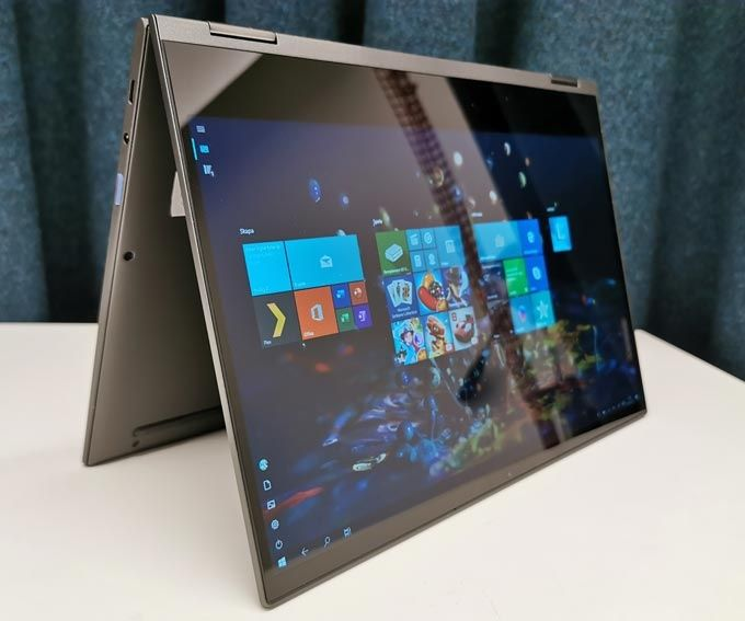 Lenovo Yoga C630 flippad