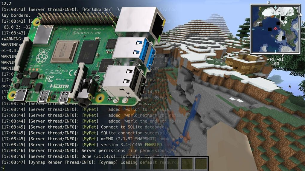 Så kör du en egen Minecraft-server påRaspberry Pi