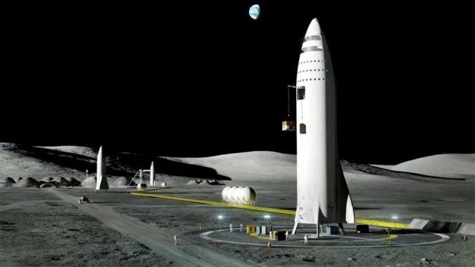 Elon Musk: Vi skulle kunna återvända till månen redan 2021