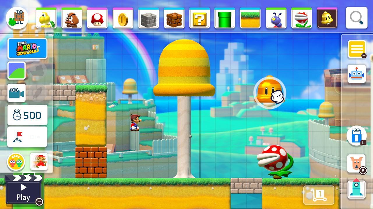 Mario 3D World in Mario Maker 2