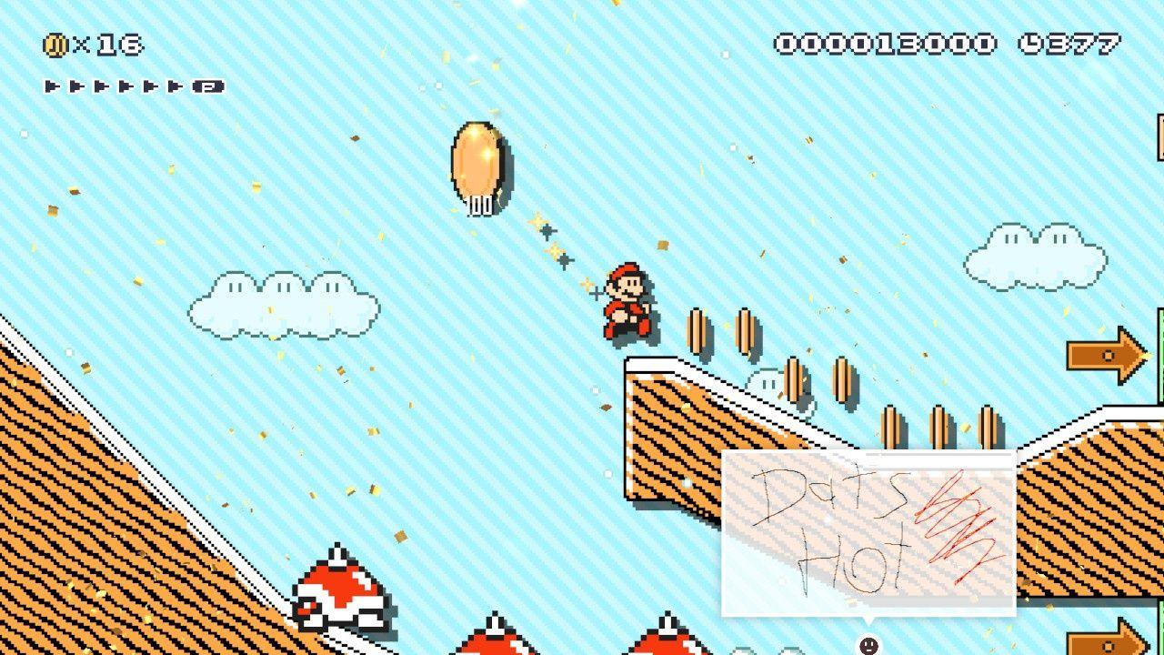 Mario in Mario 3