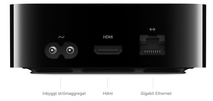 Skillnader mellan Apple TV 4k och Apple TV HD