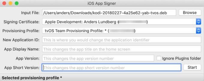 IOS Code Signer