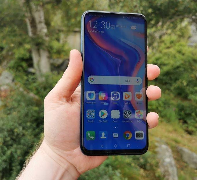 Huawei P Smart Z framsida