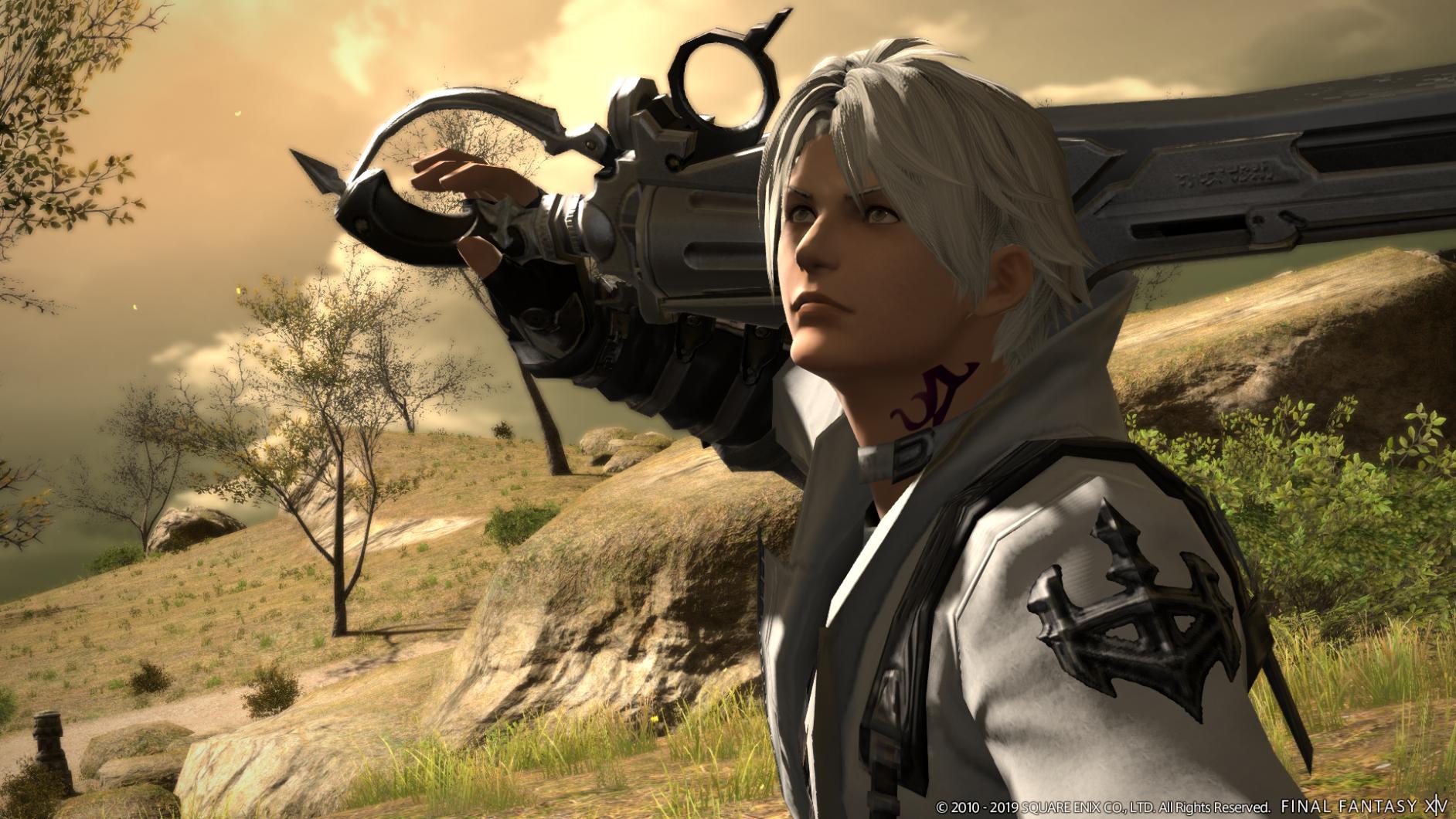 Gunbreaker i Finlal Fantasy 14
