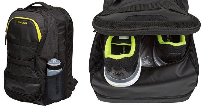 smart väska med fack för skor kläder
