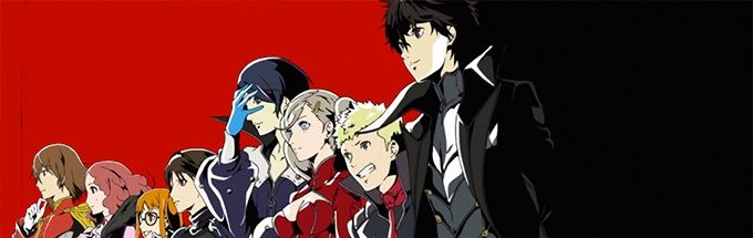 Persona 5 huvudpersonerna bredvid varandra