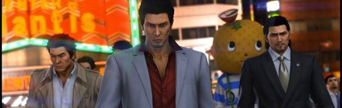 Yakuza 6 The Clan getting ready for a fight