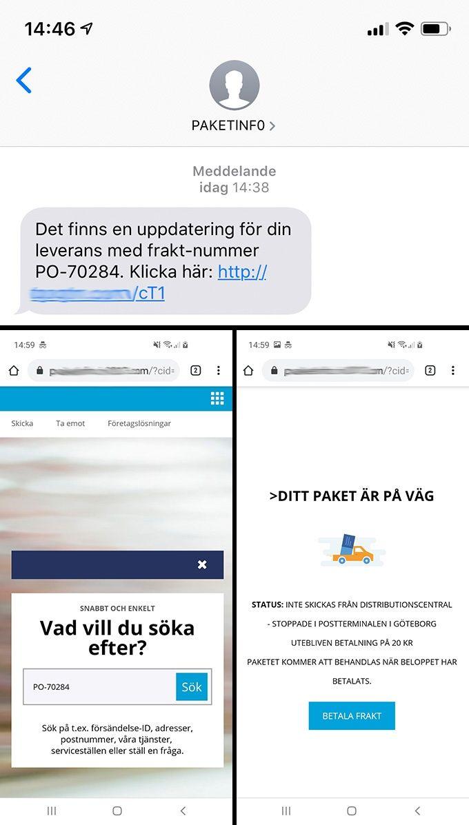 Bluff sms
