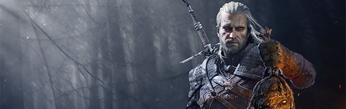 Witcher 3 geralt and head