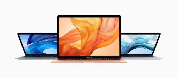 Macbook Air 2018 mot 2019
