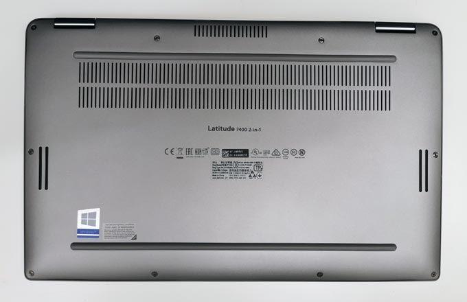 Dell Latitude 7400 2-i-1 undersida