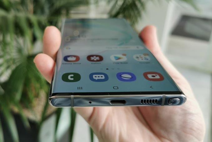 Galaxy Note 10 Plus högtalare