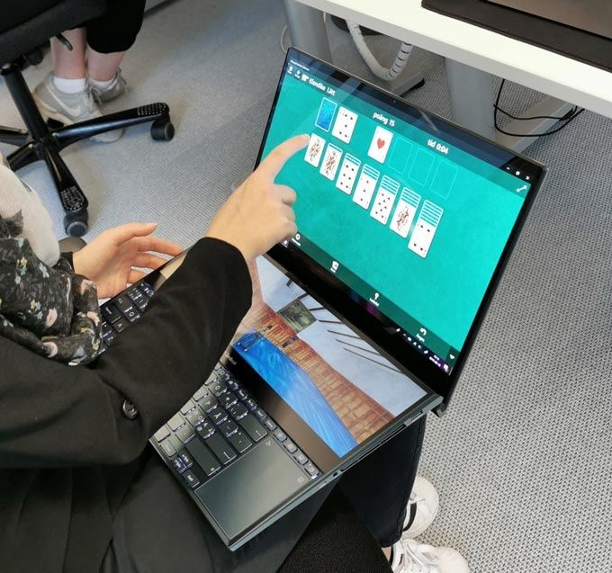 Asus Zenbook Pro Duo speltest