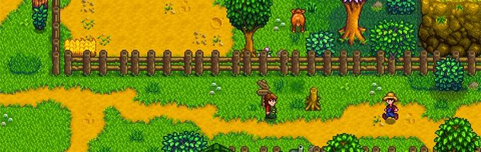 Stardew Valley walking around