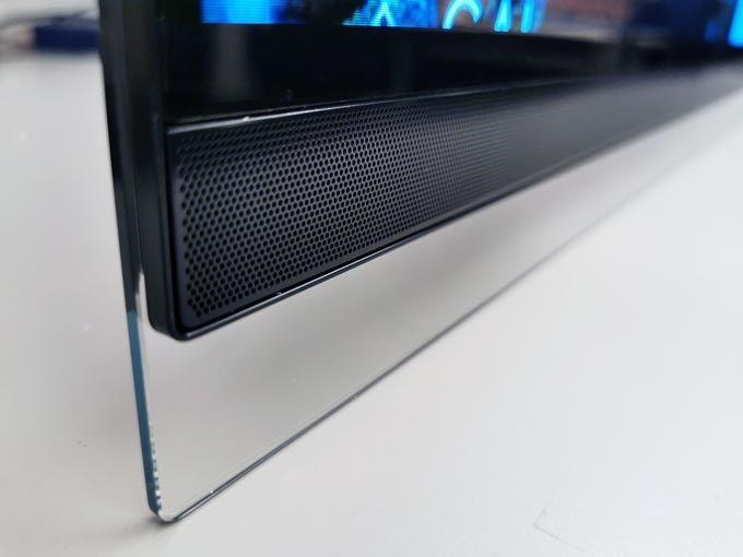 LG OLED55E9 högtalare