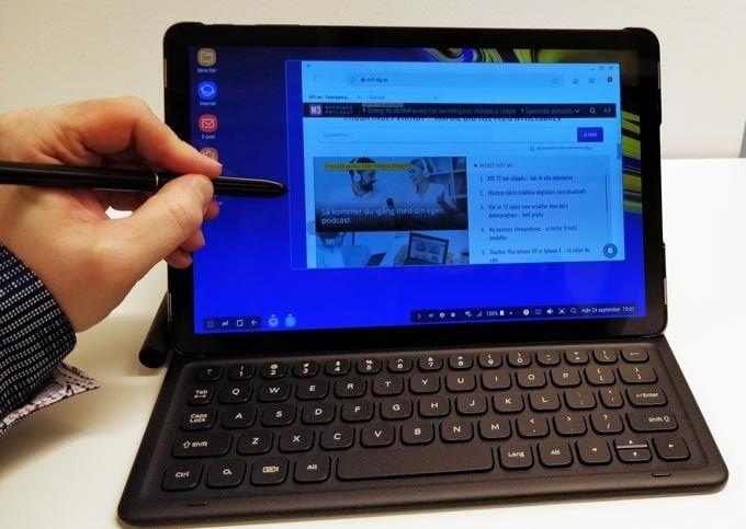 Galaxy Tab med Dex