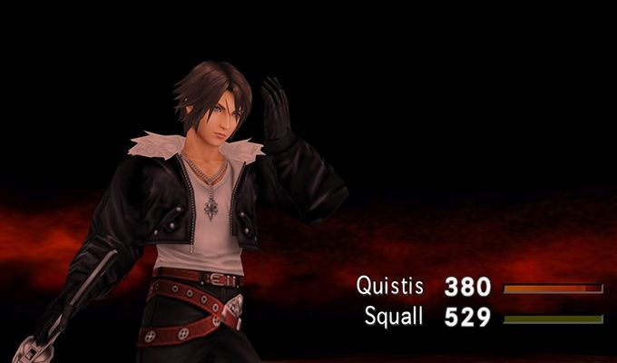 FF8 Squall Battle