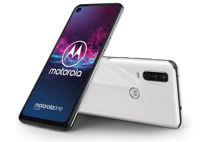 Motorola One Action vit