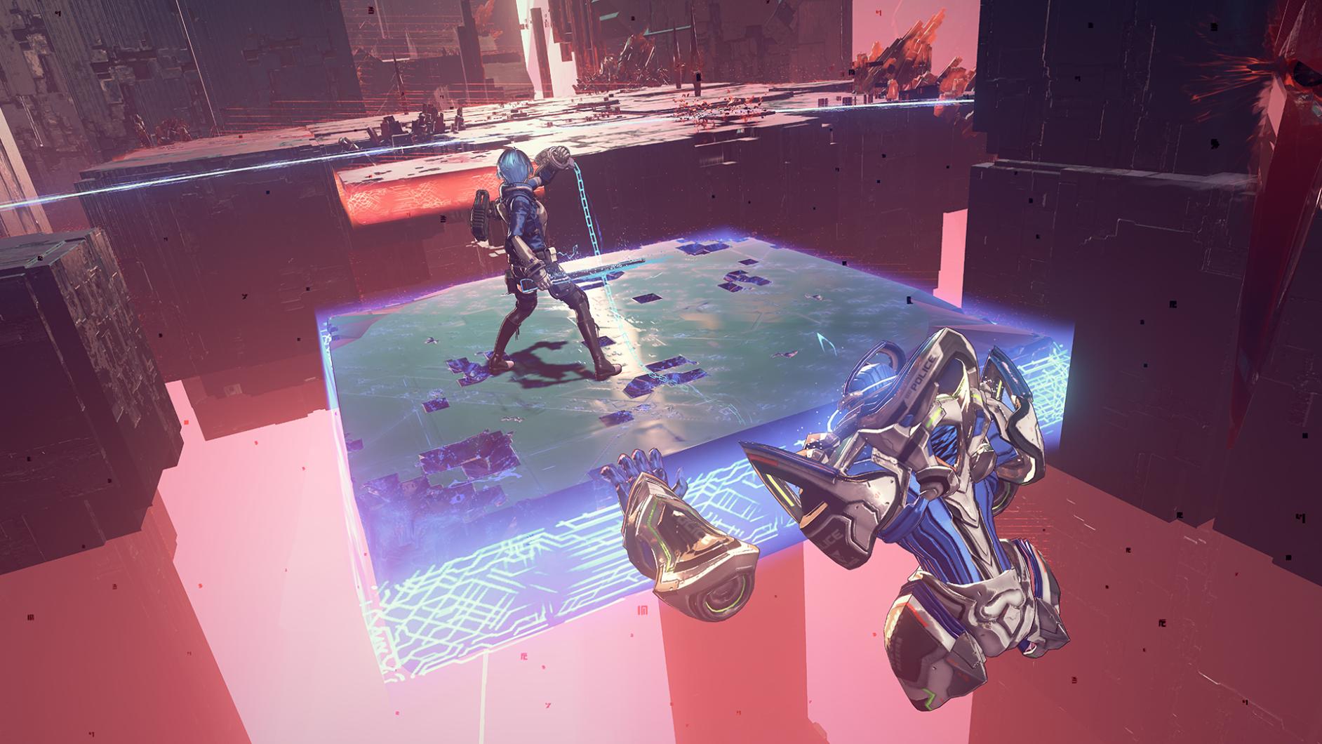 Astra Chain Legion pushing platform
