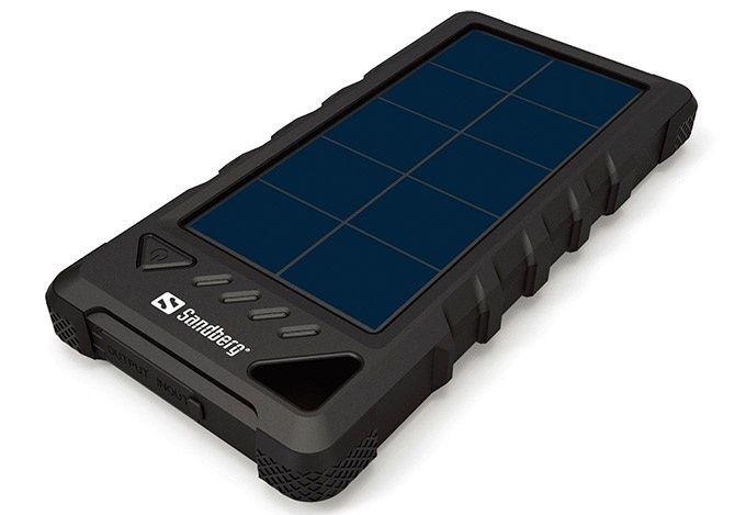 Solceller powerbank